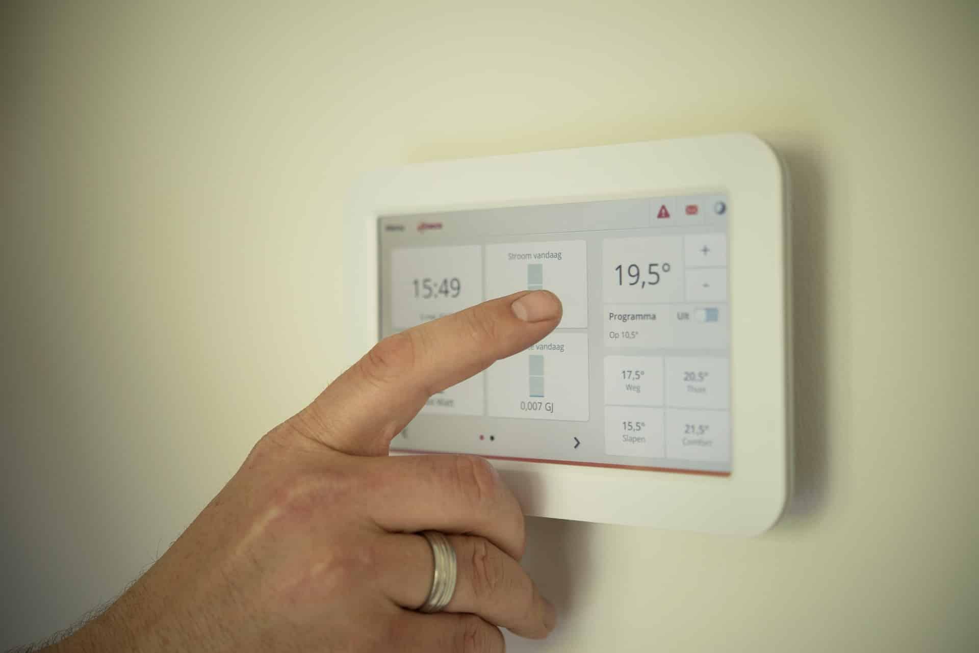 Le thermostat intelligent pour faire des économies de chauffage